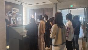 남대영기념관 방문, 벚꽃 구경